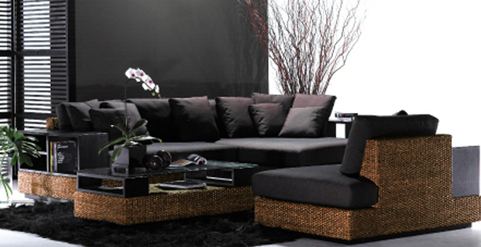 Bamboo, Woven Leather, Water Hyacinth, Furniture PERFORMAX